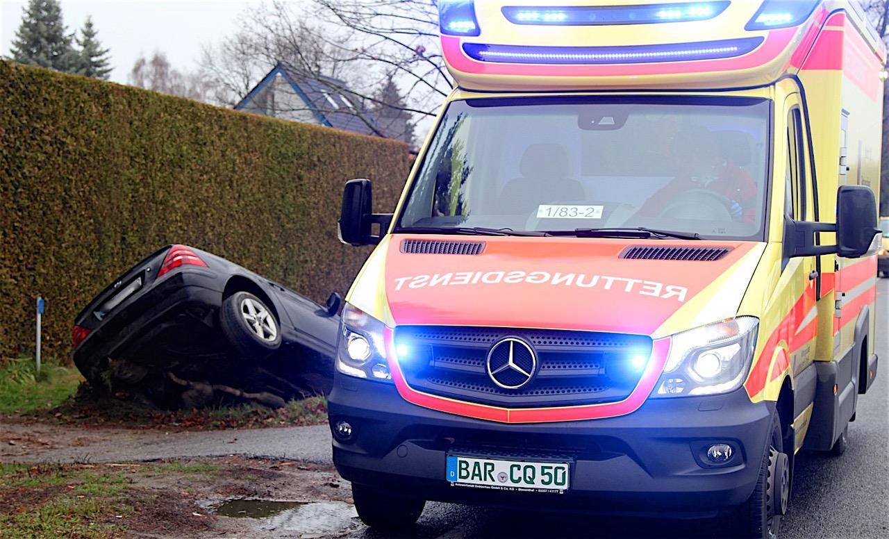 Verkehrsmeldung: Schwerer Unfall auf der B2 in Ri. Schwanebeck