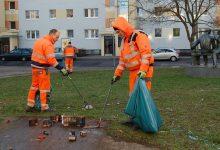 "Danke - Etwa sechs Kubikmeter ""Silvester-Abfall"" in Bernau gesammelt"