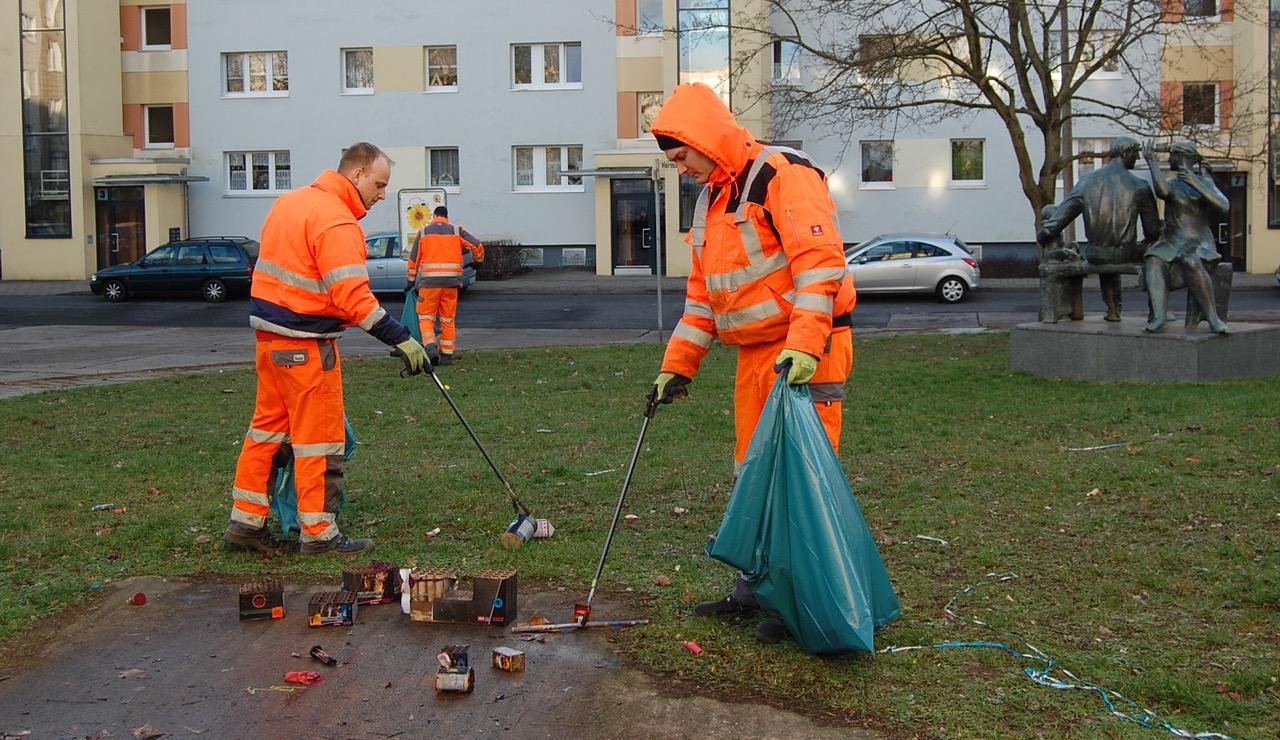 Danke Etwa Sechs Kubikmeter Silvester Abfall In Bernau Gesammelt