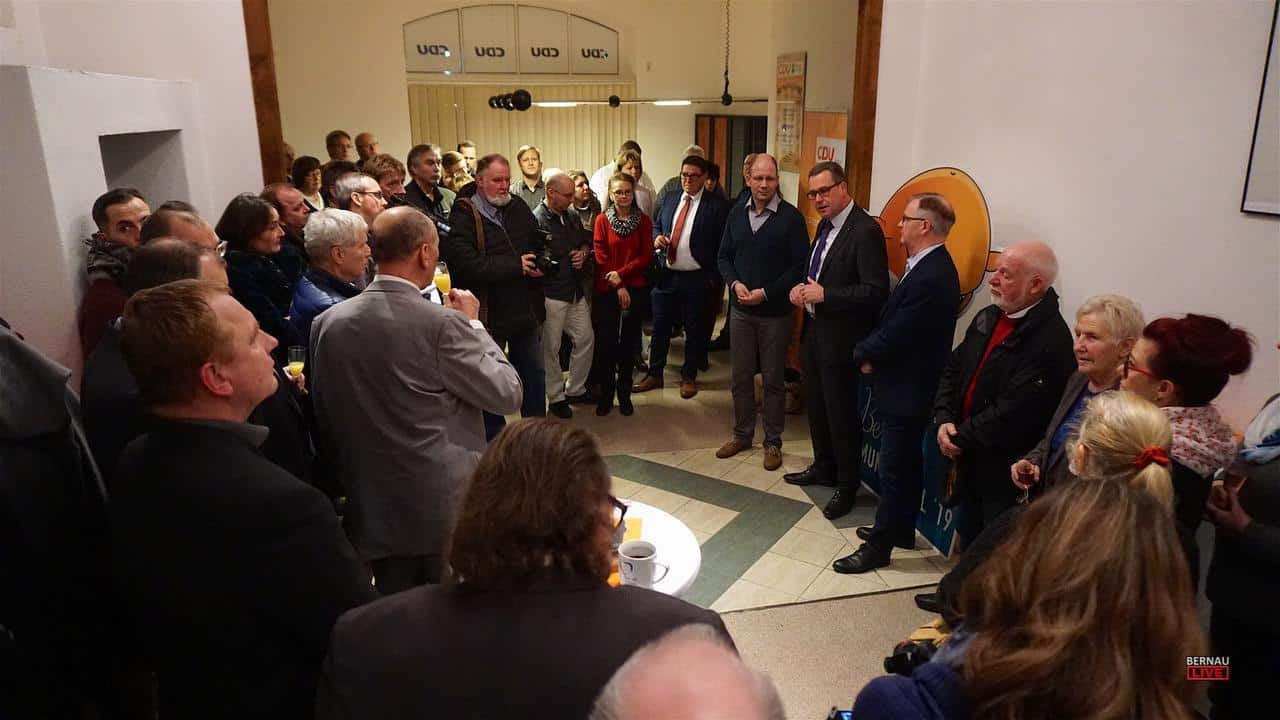 Bernauer CDU lud zum Neujahrsempfang