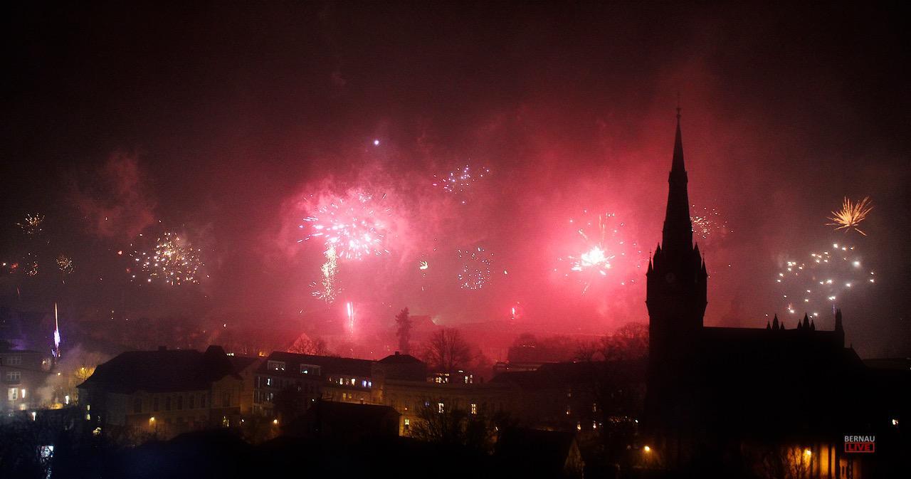 Silvester und Feuerwerk in Bernau - Willkommen im neuen Jahr 2019