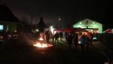 Abschied von Weihnachten bei der Freiwilligen Feuerwehr Ladeburg