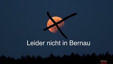 #umsonstum4uhraufgestanden - leider keine Mondfinsternis in Bernau