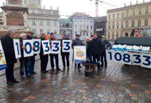 """""""Straßenausbaubeiträge abschaffen!"""" 108.333 Unterschriften übergeben"""