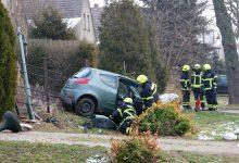 Glätte war vermutlich Ursache für einen Verkehrsunfall in Birkholz