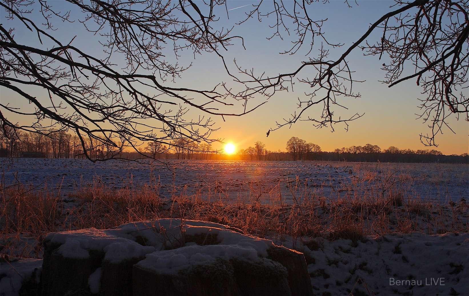 Der Winter Ist Ein Bisschen Da Guten Morgen Aus Bernau
