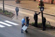 Selbst gemalter Fußgängerüberweg in Eberswalde darf bleiben