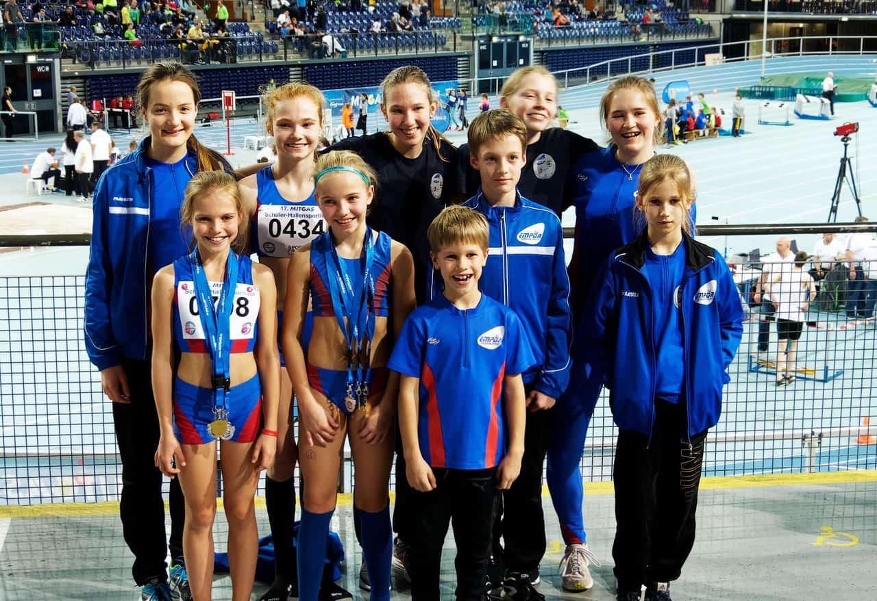 Zahlreiche Medaillen für die jungen Leichtathleten aus Panketal
