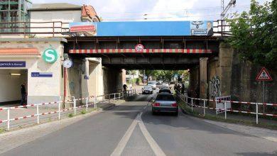 Sanierung Bahnbrücke Bhf. Zepernick - Vollsperrung - Infos der BBG