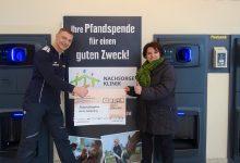E-Center Bernau: Pfandflaschen-Aktion brachte 3.368 Euro Spendengeld