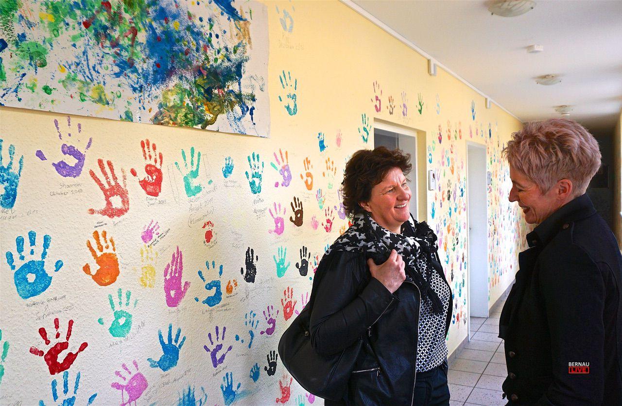 Landtagspräsidentin Britta Stark besuchte Kindernachsorgeklinik in Bernau