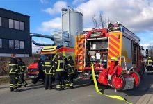 Großeinsatz der Bernauer Feuerwehren - zum Glück ist nichts passiert