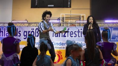 "Tanzfestival ""Dance Competition"" in Bernau am Vormittag offiziell eröffnet"