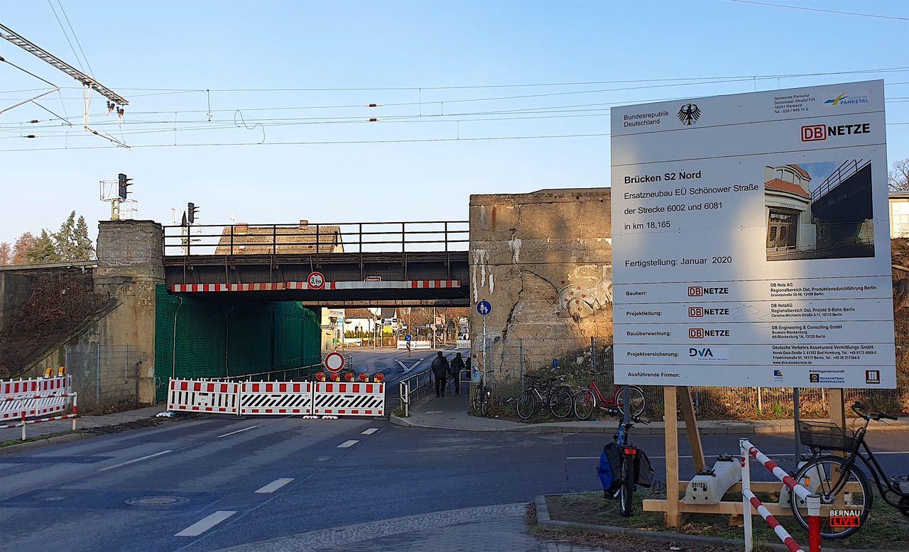 P+R Parkplatz am S-Bahnhof Zepernick ab morgen Abend gesperrt