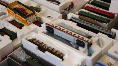 Modellbahnmarkt in Bernau zog zahlreiche Besucher in die Stadthalle