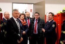 Innenminister Schröter zu Gast bei den Feuerwehren Bernau und Zepernick