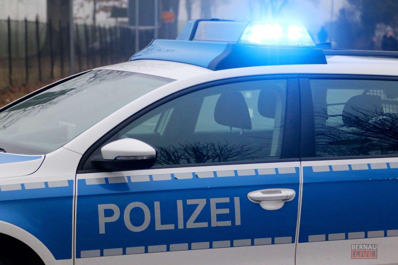 Bernau: Wohnwagen-Diebstahl gescheitert - dennoch hoher Schaden