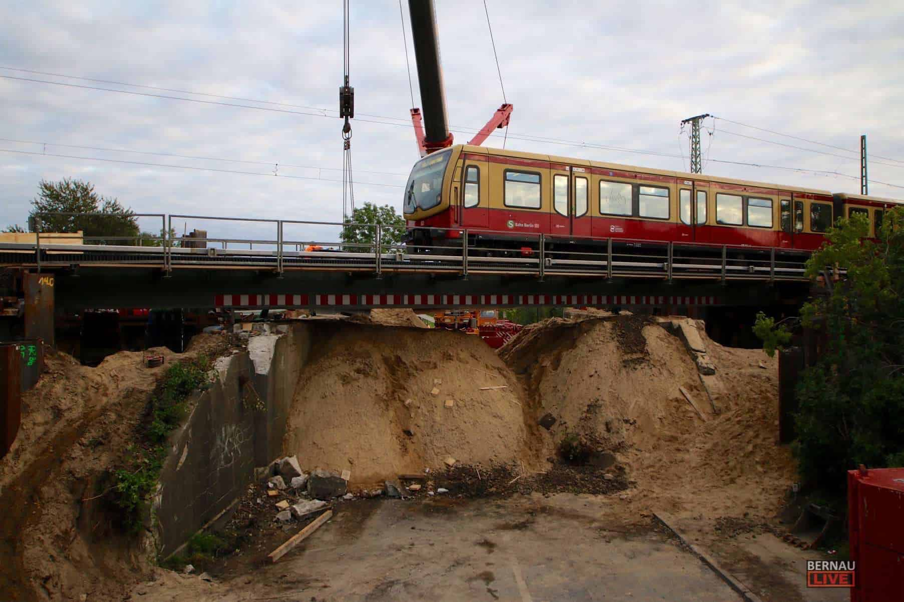"Bürgerdialog: Bauprojekt ""Berlin-Gesundbrunnen – Berlin-Karow – Bernau"""