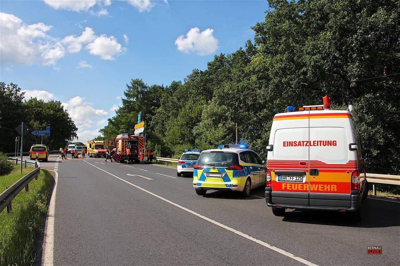 Barnim: Weniger Verkehrsunfälle, mehr Verletzte, acht Verkehrstote