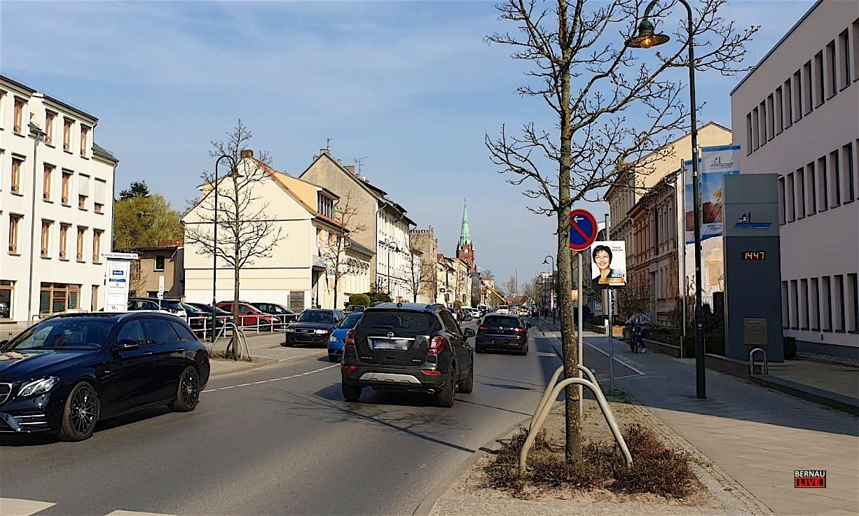 Ab Montag: Bauarbeiten in der Breitscheidstraße - Infos der BBG