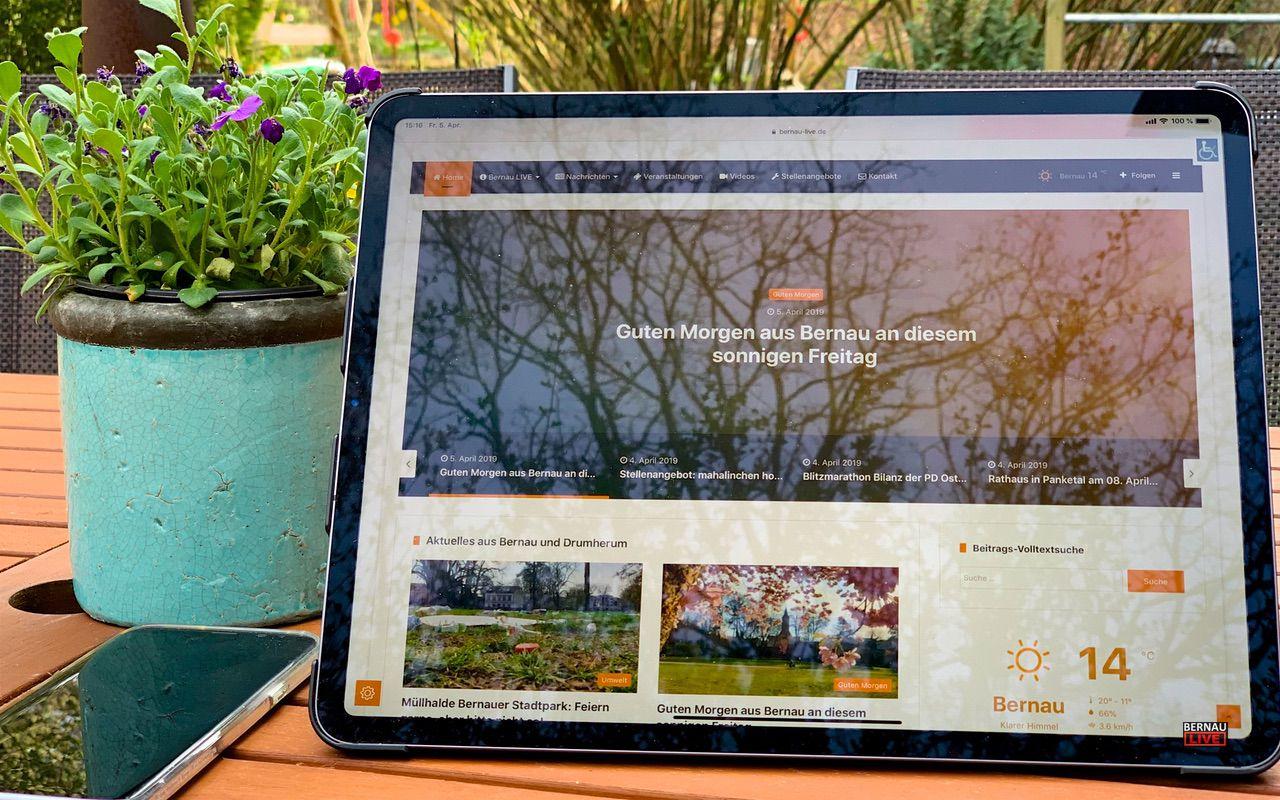 Bernau und weitere Städte und Orte erhalten kostenfreie W-LAN Hotspots