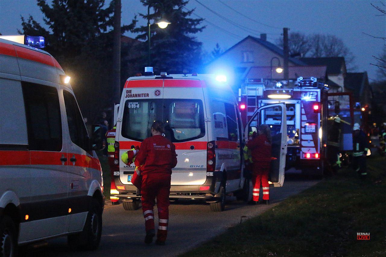 Einsatzübung der Feuerwehren Tempelfelde und Grüntal