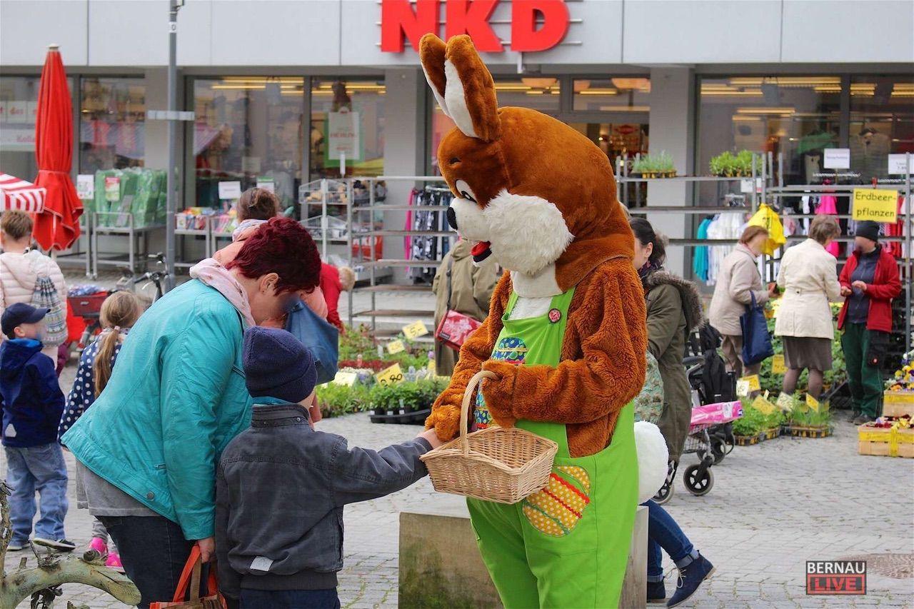 Morgen: Große Ostereiersuche in der Bernauer Innenstadt