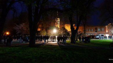 Wieder Party im Bernauer Stadtpark - mit dabei, die Polizei