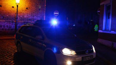 Mit Hubschrauber: Großeinsatz der Polizei im Bernauer Stadtpark