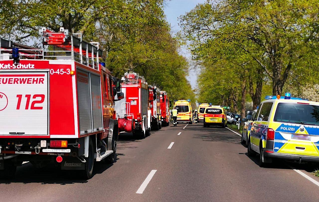 Tragischer Verkehrsunfall zwischen Tiefensee und Werneuchen