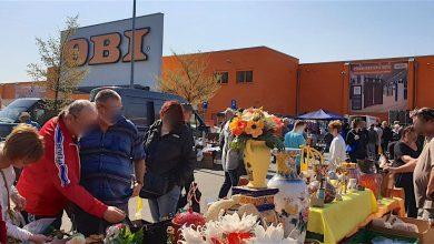 Tausende Besucher zur Zeit beim Flohmaxx - Flohmarkt in Bernau