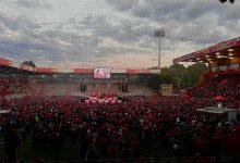 1. FC Union: Große Aufstiegsparty in Berlin neigt sich dem Ende