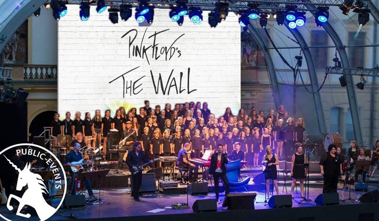 The Atomic Brick Orchestra with Strings & Choir performs Pink Floyd