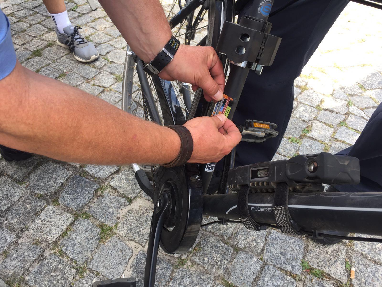 Fahrradcodierung Bernau