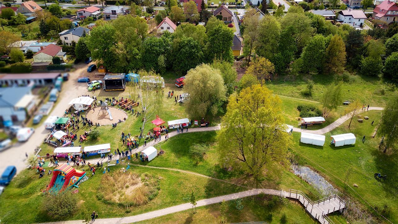 Halbzeit beim heutigen Kinder- und Familienfest in Bernau Süd