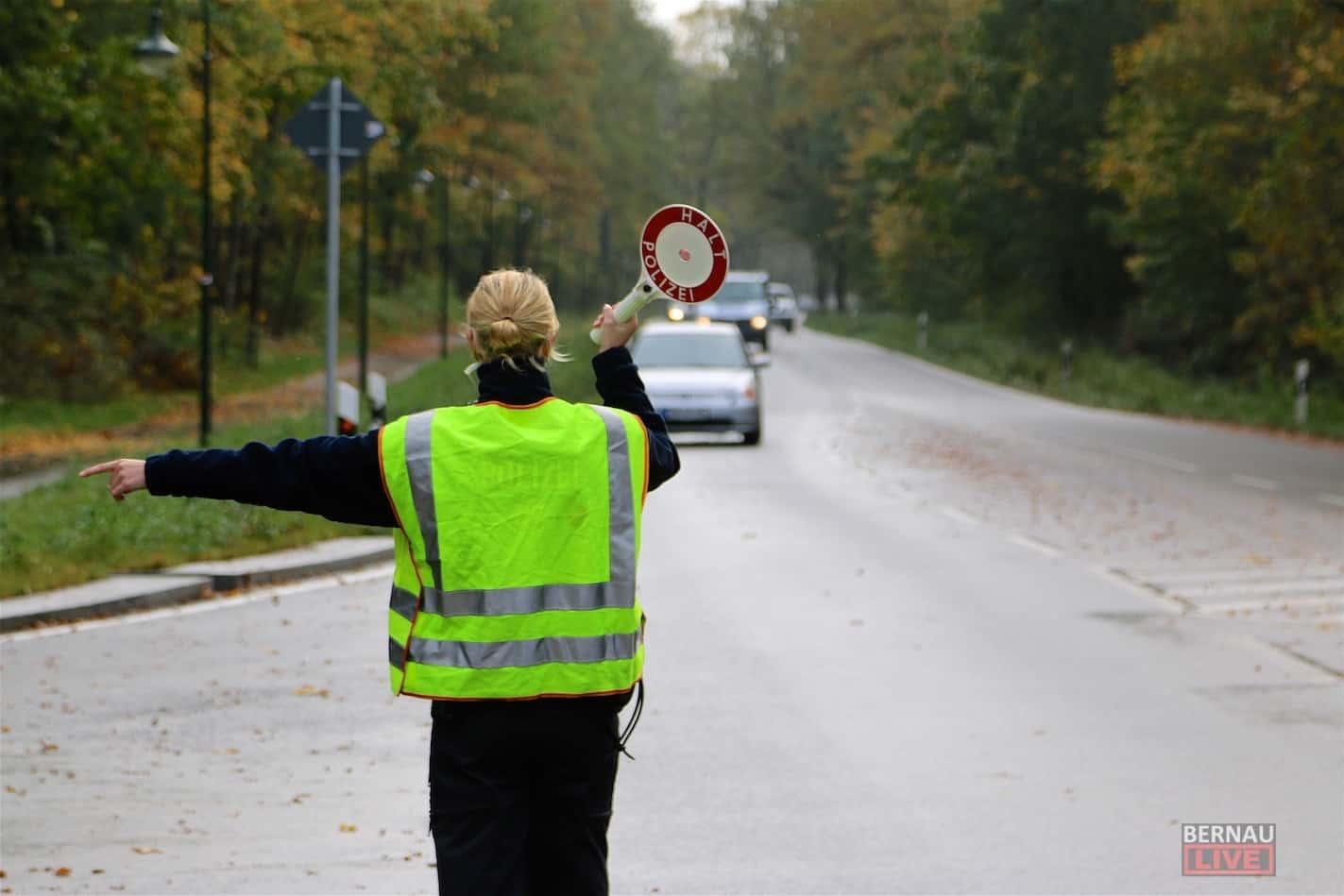 Großflächige (Schwerpunkt) Verkehrskontrollen in Bernau und Barnim