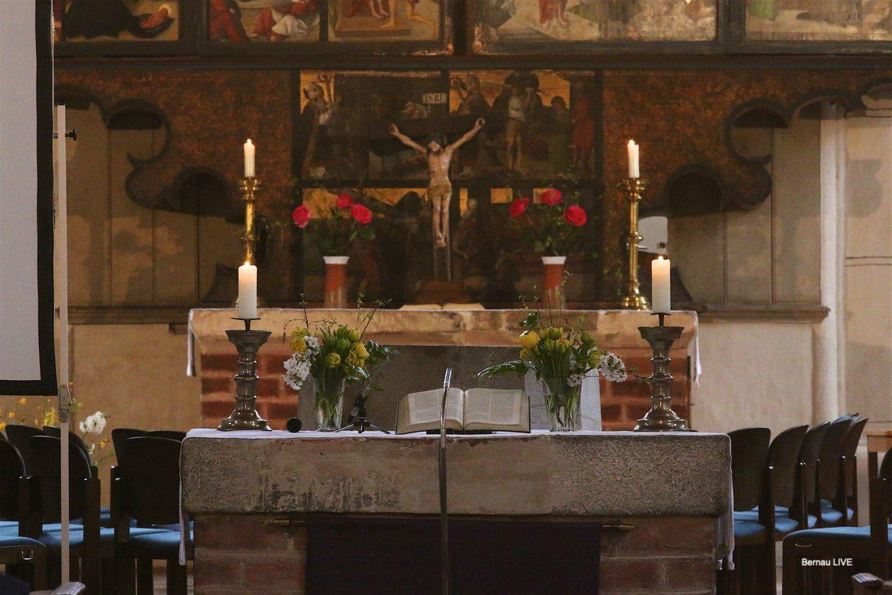 122.000 Euro Fördermittel für den Altar der St. Marien Kirche Bernau