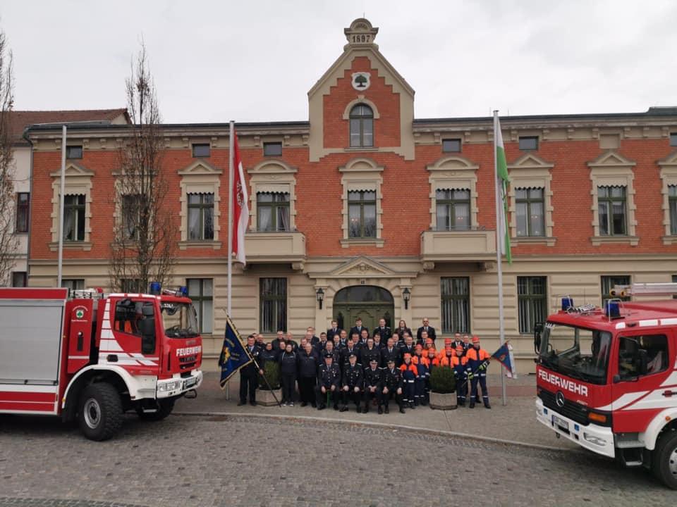 Die Feuerwehr Werneuchen wird 120 Jahre - Es darf gefeiert werden!