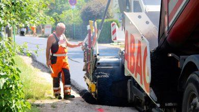 Asphaltierarbeiten in Ladeburg haben begonnen - weitere Stadtteile folgen