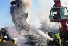 Großbrand in Schönerlinde - bis zu 100 Kamerad*innen etwa 5 Std. im Einsatz