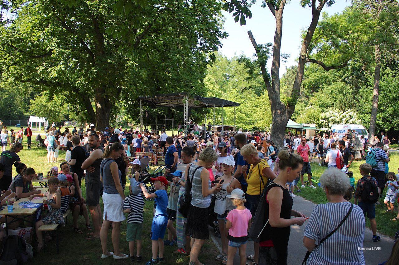 Kinderfest im Stadtpark Bernau