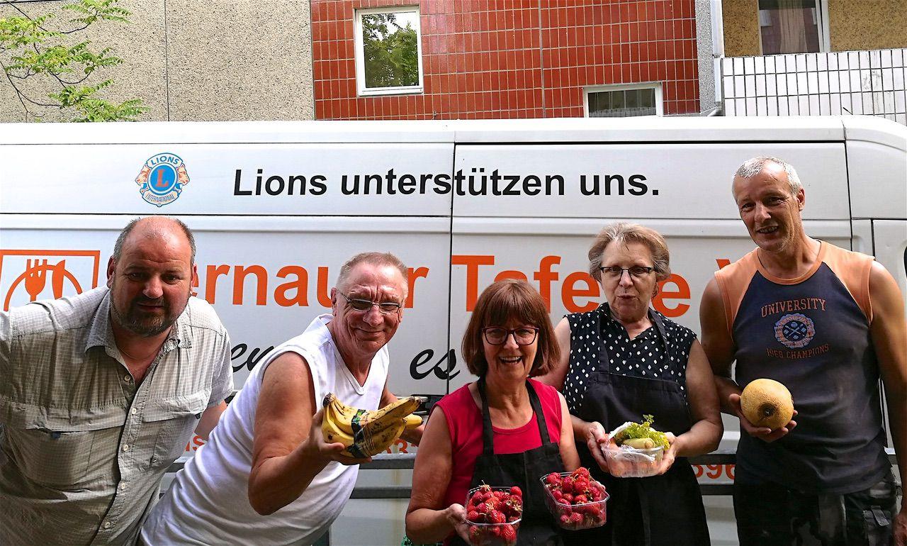 Lions Bernau und die Tafel Bernau verstärken ihre Zusammenarbeit