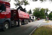 Fräsarbeiten haben heute auf der L31 Blumberg-Bernau begonnen