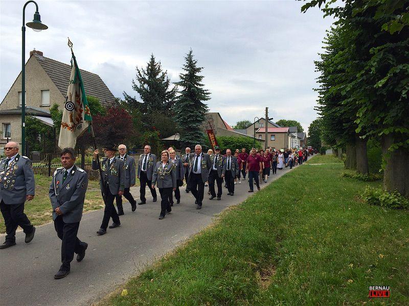 Feiern in Familie: Tempelfelde lud zum 10. Vereins- und Dorffest