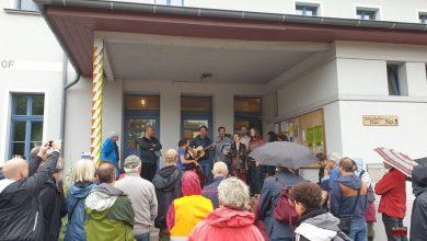 Für mehr Menschlichkeit bei der Seenotrettung- Kundgebung in Biesenthal