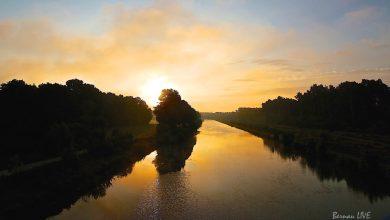 Bernau LIVE - Oder-Havel-Kanal bei Marienwerder