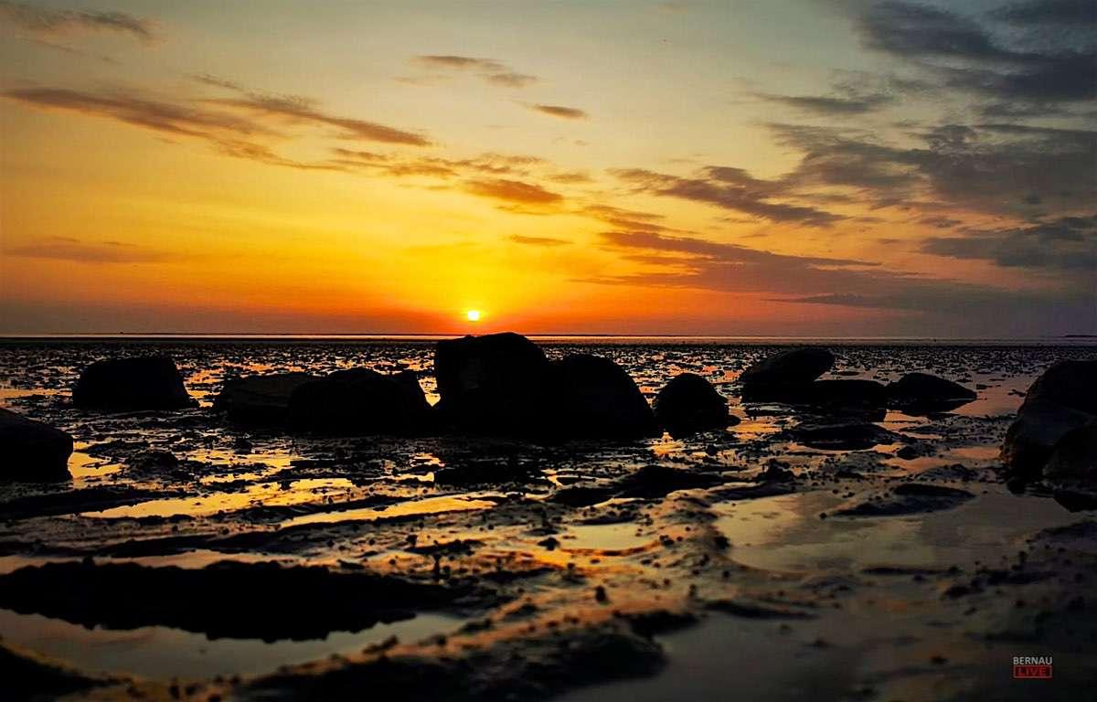 Sonnenuntergang in Ostfriesland Bernau LIVE0000