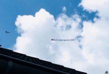 Bernau: Hochzeitsantrag am Himmel über Schönow