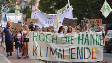 "Photo of ""Fridays for Future"" – Demo für Klimaschutz in Bernau bei Berlin #3vor12"
