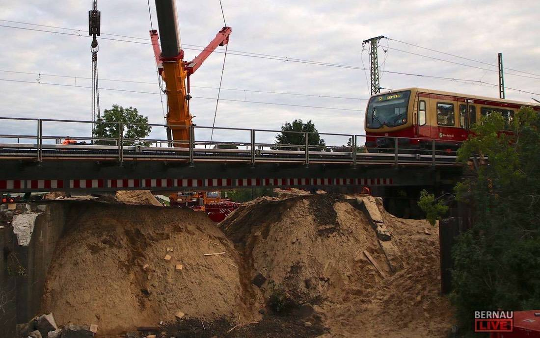 Bauarbeiten S2 Bernau SEV Bernau LIVE0000